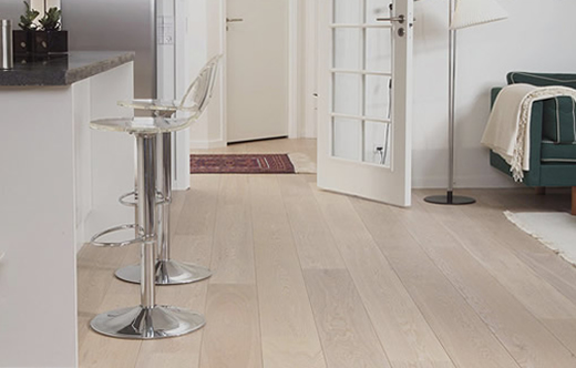 Elegant White Oak Flooring _ 520